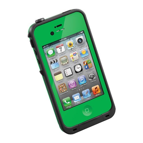 HESGI New Waterproof Shockproof Dirtproof Snowproof Protection Case Cover for Apple Iphone 4 4S Green (Iphone 4s Energy Case compare prices)