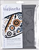 Lisa Pavelka Stamp Set, Steampunk-Innie and Outtie
