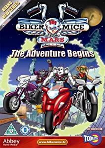 Biker Mice From Mars - The Adventure Begins [DVD]