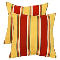 Greendale Home Fashions Indoor/Outdoor Accent Pillows, Set of 2 by Greendale Home Fashions
