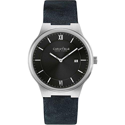 Caravelle New York Dress Men's Quartz Watch with 43B148