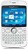 Sony Ericsson txt Smartphone (6,3 cm (2,5 Zoll) Display, 3,2 Megapixel Kamera, microSD, GSM, GPRS, WiFi) weiß