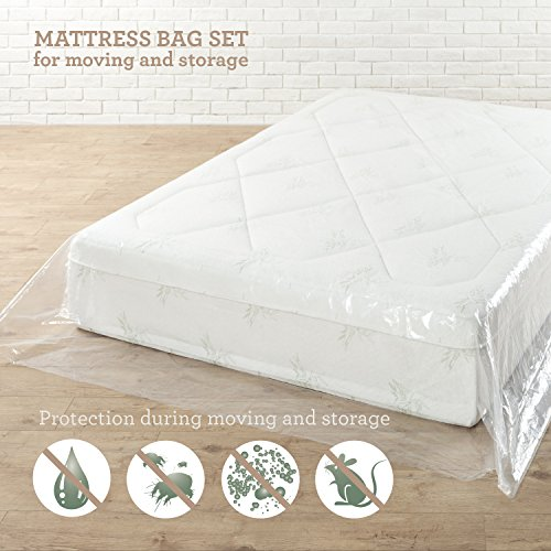 Zinus Mattress Moving and Storage Bags, Set of