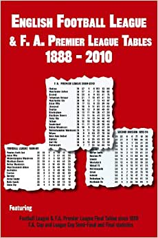 English football league f a premier league tables 1888 for Epl league table 98 99