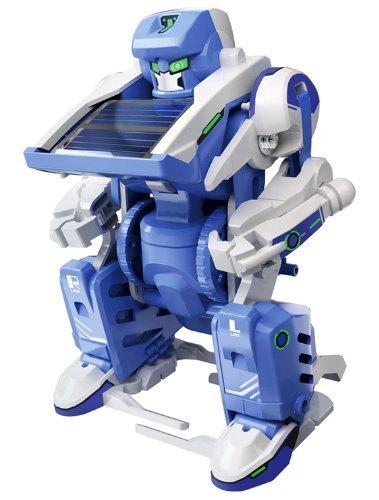 Baukasten für 3 verformbaren Solar-Roboter