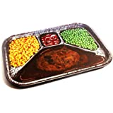 Retro TV Dinner Style Printed Party Serving Tray-Novelty Gag Gift