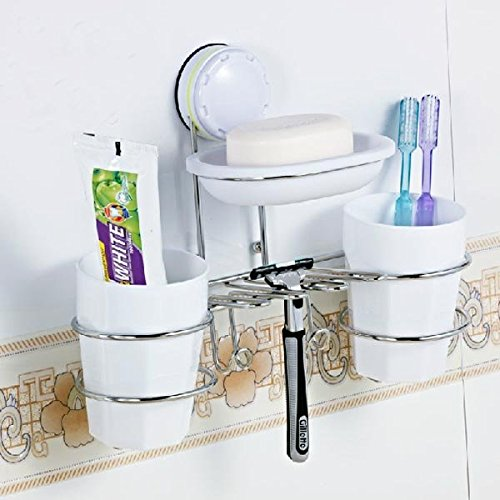 wall-suction-cup-toothbrush-holders-soap-box-toothbrush-cup-set