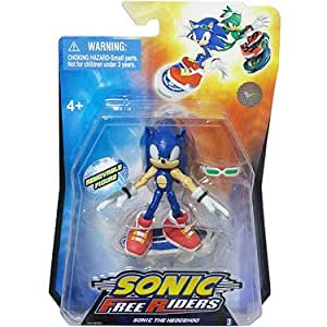 sonic free riders sonic the hedgehog figurine 7 cm import royaume uni by. Black Bedroom Furniture Sets. Home Design Ideas