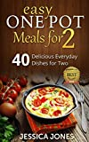 img - for Easy One Pot Meals for 2: 40 Delicious Everyday Dishes for Two book / textbook / text book