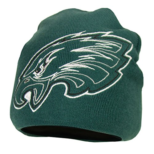 Nfl Quot Logo Hype Quot Uncuffed Knit Beanie Winter Hat