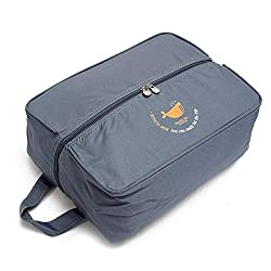 PackNBUY BLUE Travel Toiletry Shoe Bag Organizer