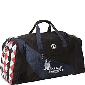 (FS16016) Flow Society Argyle Duffle Bag in Navy
