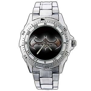 NEW Uhren Armbanduhren Edelstahl Geschenk Weihnachten EPSP138 Batman Logo Stainless Steel Wrist Watch