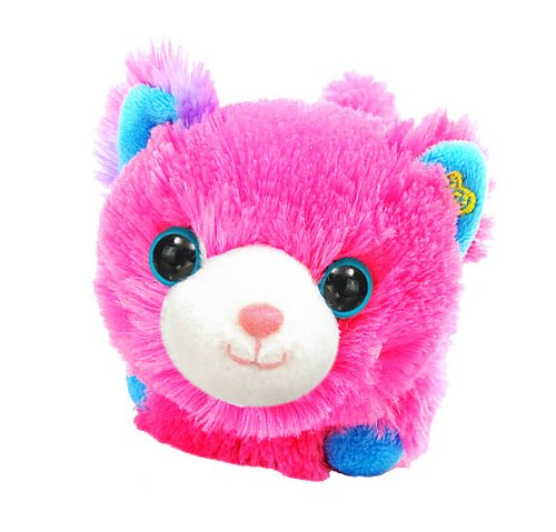 Happy's Special Edition Lady Pink Plush Motorized Pet Cat - 1