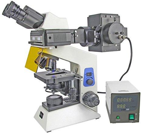 Unico G506 Epi-Fluorecence Binocular Microscope W/ Seidentopf Head, Paired 10X Eyepiece, Infinity