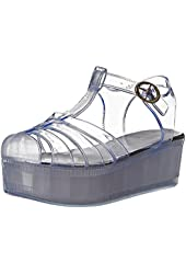 Wanted Shoes Women's Jellypop Jelly Sandal