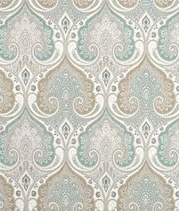 Amazon.com: Kravet Latika Seafoam Home Decor Drapery Fabric