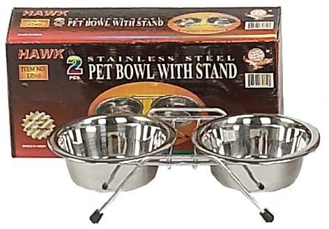 2 PIECE FOOD DISH FOR SMALL PETS