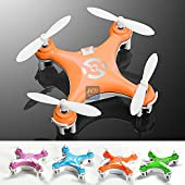 KiiToys Mini Drone Quadcopter X10 - The Smallest Dones in the world, Micro Nano Size RC Helicopter by