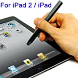 LUPO Capacitive Touch Stylus Pen for Apple iPad's, iPhone's &amp; other Smartphones / Tablets - BLACK