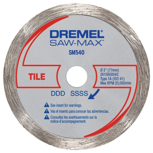 Dremel SM540 3-Inch Tile Diamond Wheel