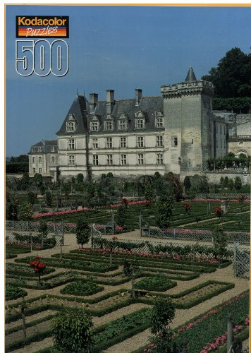 Kodacolor 500 Piece Puzzle Villandry Castle (Château de Villandry), France