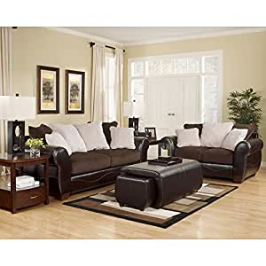 voltage chocolate living room set living