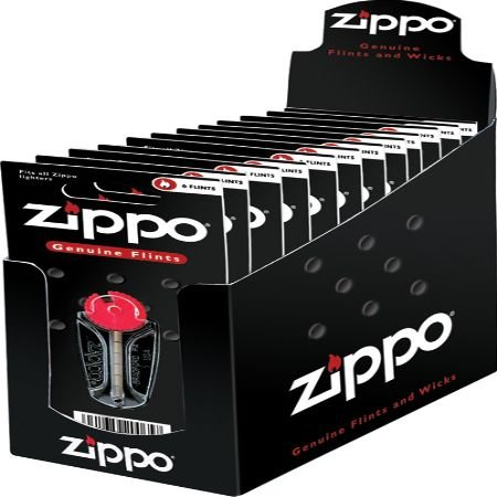 Zippo Lighters 20065 ORMD Flint Cards 24 display pack