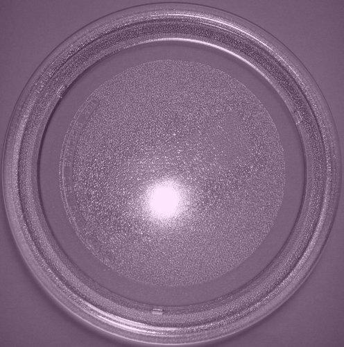 Mikrowellenteller / Drehteller / Glasteller für Mikrowelle # ersetzt Gaggenau Mikrowellenteller # Durchmesser Ø 24,5 cm / 245 mm # Ersatzteller # Ersatzteil für die Mikrowelle # Ersatz-Drehteller # OHNE Drehring # OHNE Drehkreuz # OHNE Mitnehmer