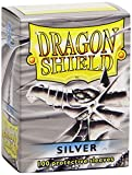 Dragon Shields Sleeves (100-Pack), Silver