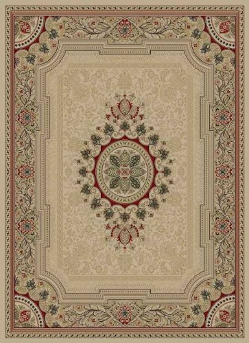 Black friday tayse area rugs sensation rug 4672 ivory 5 for Best area rug websites