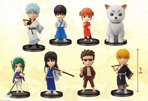 Gintama World Collectable Figure vol.1 WCF Anime prize Banpresto (all eight species full comp set) (japan import)