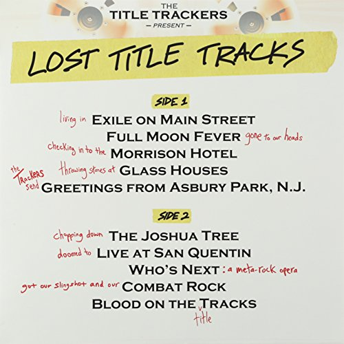 Album Art for Lost Title Tracks by Title Trackers