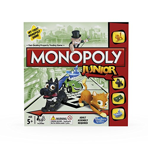 Hasbro - Monopoly Junior Refresh (versione in Inglese)