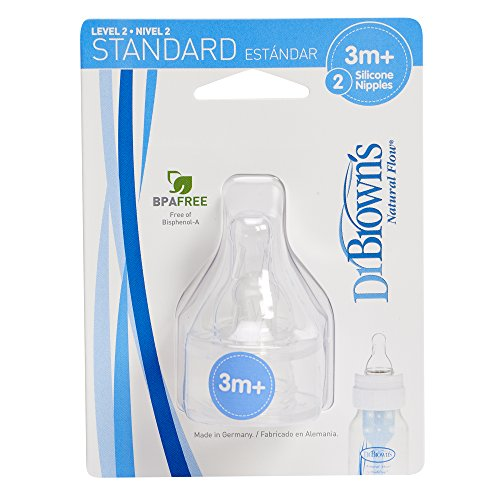 Dr. Brown's 2 Natural Flow Level 2 Standard Nipple