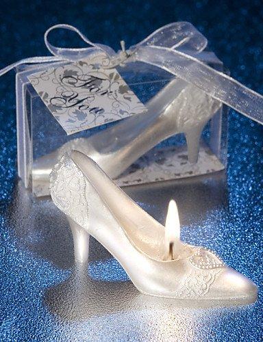 WXD cadeaux créatifs cendrillon chausson romantique de bougie pour amant