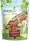 Food To Live ® Organic Pecans (Raw, No Shell) (1.5 Pounds)