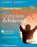 img - for Complete Advanced Student's Book without Answers with CD-ROM with Testbank book / textbook / text book