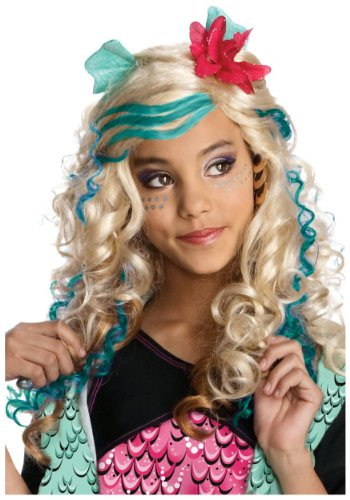 Rubies Monster High Lagoona Blue Wig