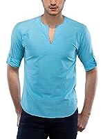 Philip Loren Camisa Hombre (Turquesa)