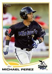 2013 Topps Pro Debut Baseball Card # 123 Michael Perez - Missoula Osprey (Prospect... by 2013 Topps Pro Debut