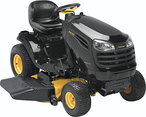 Poulan Pro 960420167 PB20A46 Kohler 20 HP Pedal Control Fast Auto Drive Cutting Deck Riding Mower, 46-Inch