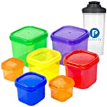 7 Piece Portion Control Container Kit...