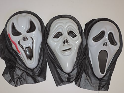 New Devil Scream Mask/Halloween/Protest - Style may vary