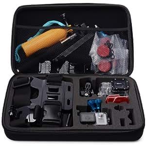 XCSOURCE® Portable Stoßfest Groß Größe Spielraum-Speicher Schutztragetasche Tasche für GoPro Hero 2 3 3 + 4 SJ4000 SJ5000 Kamera-Zubehör OS67