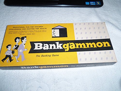 1963 American Publishing Corp Bankgammon The Banking Game - 1