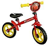 Cars 808959 - Bicicleta sin pedales (diametro ruedas 30,5 cm), color rojo