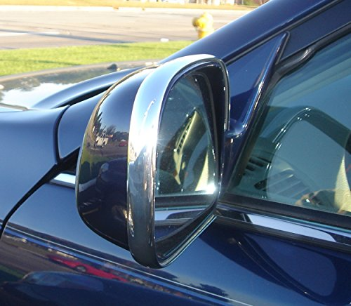 2 Piece Chrome Side Mirror Trim Molding Kit (Toyota Yaris 2007 Mirror compare prices)