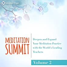 The Meditation Summit: Volume 2: Deepen and Expand Your Meditation Practice with the World's Leading Teachers Speech by Tara Brach, Richard Miller, Reverend Angel Kyodo Williams, Thich Nhat Hanh, Joseph Goldstein, Pema Chödrön, Shinzen Young,  Lama Surya Das,  Adyashanti, Anakha Coman Narrated by Tara Brach, Richard Miller, Reverend Angel Kyodo Williams, Thich Nhat Hanh, Joseph Goldstein, Pema Chödrön, Shinzen Young,  Lama Surya Das,  Adyashanti, Anakha Coman