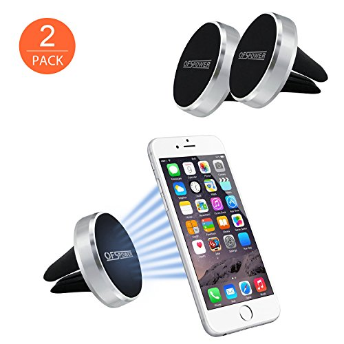 Magnetic Car Mount, OfsPower 2Pack Universal Magnetic Air Vent Car Mount Phone Holder for iPhone / Samsung / GPS Device and More (Magnetic Car Vent Phone Holder compare prices)